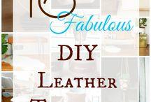 Leather DIY Lists!