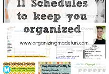 Getting Organized / by Roni the Savvy Housewife