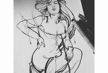 ─ Tattoo sketches & ideas