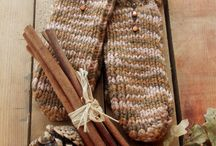 ...and warm woolen mittens