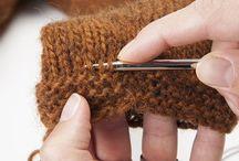 retoucher un tricot