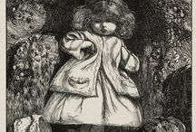 prerafaelistas  ilustración