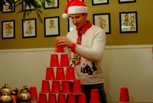 Minute to win it games // Christmas edition