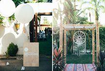 Вдохновлялки для моей свадьбы / Boho+rustic оформления