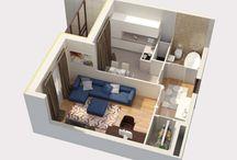 2d 3d планы квартир