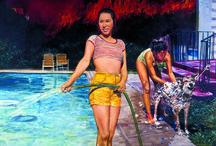 """Exposition """"Chicano Dream. La collection Cheech Marin 1980-2010)"""" / A l'occasion des 50 ans du jumelage entre les villes de Bordeaux et Los Angeles, le musée d'Aquitaine propose une rétrospective sur quarante années de création picturale chez les artistes mexicains américains des Etats-Unis, communément appelés chicanos."""