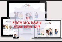 Sosyal Medya Kafe-Yaşam Bloğu: Ücretsiz Blog Tasarım