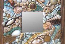 Mosaico de conchas