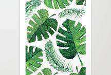~ Tropical leaves ~ tropical feelings