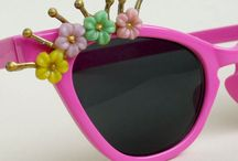 Vintage inspired sunglasses / Vintage accessories have been part of my everyday wear for many years. Sunglasses are a part of them, but originals in good condition are expensive. So, I started making my own originals. New vintage styles with glamour and ready to go! / by Vintage GlamArt
