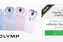 Olymp / Compromisloze kwaliteit bij materiaal en verwerking: de strijkvrije overhemden van Olymp.