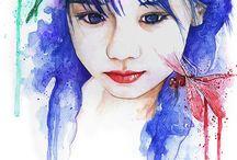 Paintings..