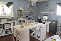 Craft & Sewing Room Ideas / by Jessica Stone