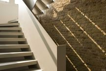 Straight Metal Staircase