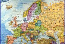 Карты земли и стран