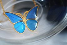 Morpho Butterfly jewelry