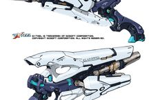 Gun Concept Art