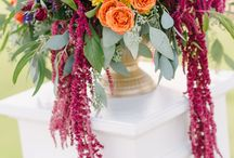 Wedding Ceremony Flowers and Decor / Inspiration for wedding ceremony flowers.