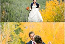 // First Look // / Wedding couples, first look, Colorado wedding photographer, wedding photography, Colorado couples, bride and groom, wedding photography, love