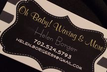 Oh Baby! Waxing and more / Small business owner specializing in makeup, speed waxing and facials  / by Helen Borger