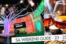 Your South African Weekend Guide 23-25 May 2014 /   Whoohoo! The work week has officially come and gone again, leaving us excited for the weekend! Whether you are looking for something fun and outgoing like the Fine Brandy Fusion, celebrating Africa Day or something more relaxed like one of the fantastic food markets in South Africa, we at Go2global have got you covered!  http://www.go2global.co.za/index.php?page=Blog&post=Your+South+African+Weekend+Guide+23-25+May+2014