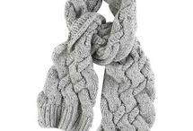 SCARFS KNITTED