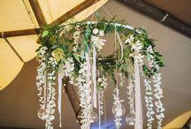 Rustical wedding decorations