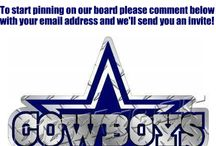 Official Dallas Cowboys Fan Community Board / We are looking for content creators for our Dallas Cowboys Fan community board.  If you love the Cowboys and would like to be a content creator please send us a message with your pinterest email address!