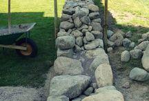 stenar trädgård