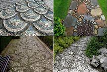 Kameny dekorace