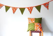 Mollie Makes Handmade Awards 2015 / My submission of my buntings and home decor for the Mollie Makes Handmade Awards 2015 (Establised Business Award).  All made from home, by me.  I bring a more unusual approach to bunting, ie, it is not just for parties, but as the finishing touch to a room.