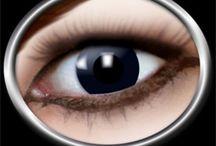 Färgade linser / Dessa färgade linser ger helt säkert uppmärksamhet på varje fest och alla har garanterat ögonen på dig!