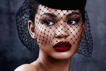 Red lipstick bespoke shades