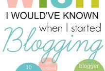 Let's talk Blogging baby.
