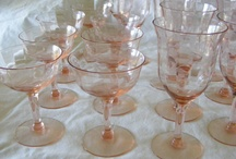 crystal stemware / by Claire Herman