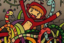 El Niño Mono / comics Las Aventuras del Niño Mono