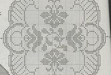 grafico tapete croche