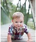 Baby outdoor photo ideas