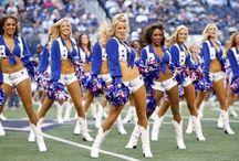 NFL cheerleaders / by Elaine Carey
