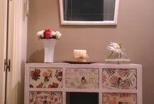 CREACIONES PROPIAS / muebles recuperados y objetos de creación propia de Cachito Mío