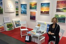My Exhibtions / Exhibitions with Ania Witwitzka's paintings!