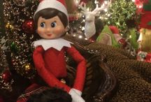 ilove Elf On The Shelf / What fun it is to see what everyone does with their Elf On The Shelf.  My Elf, Sparkles, is looking forward to a wonderful Christmas!
