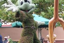Walt Disney World FL, Topiary / Some fantastic topiaries at Walt Disney World