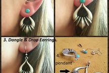 Jacket Earring, Silver Ear Jackets, Back Earring, simple Ear Jackets, tribal Earrings,