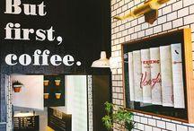 Träume / Ich liebe es zu backen und träume davon ein kleines Café zu eröffnen. Ich habe nur leider nicht den Mut dazu ;) Also hab ich hier eine kleine Pinnwand an der ich meine Ideen für die Gestaltung eines Cafés sammle.
