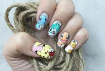 Pokemon Go Nail Art