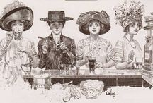 Orson Lowell and Charles Dana Gibson