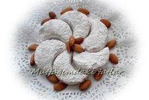Bademli kavale kurabiye tarifi lezzetli