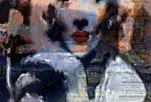 Marlene Dietrich Pop Art