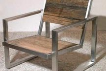 Metal n Wood furniture